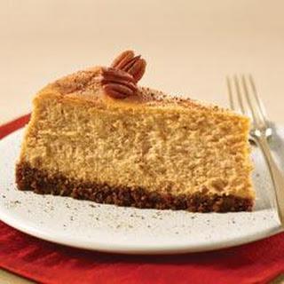 PHILADELPHIA Spiced Pumpkin Cheesecake.