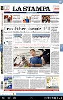 Screenshot of La Stampa