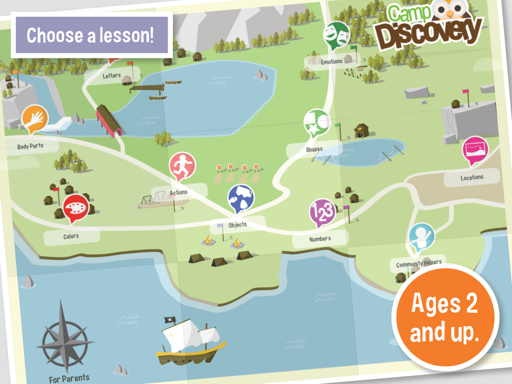 Autism Learning:Camp Discovery - screenshot