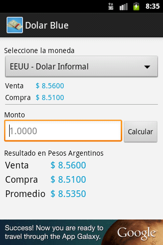 Dolar Blue- screenshot