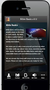 Bible Basics 4 U- screenshot thumbnail