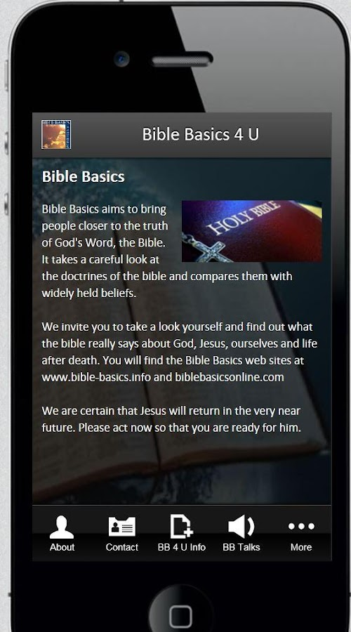 Bible Basics 4 U- screenshot