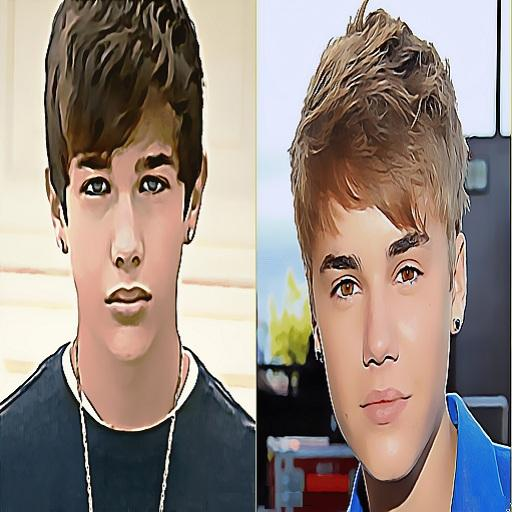 Mahone vs Bieber LOGO-APP點子