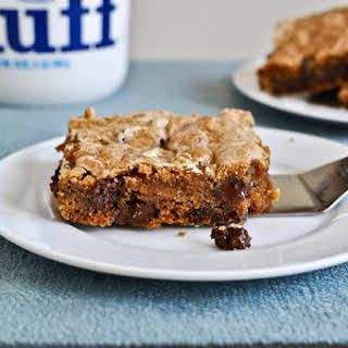 Chewy Chocolate Chunk Marshmallow Cookie Bars.