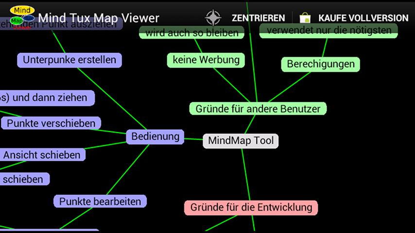 Mind Tux Map Viewer - screenshot