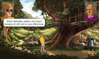 Screenshot of Broken Sword 2: Italiano