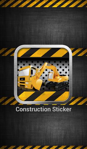 Construction Sticker
