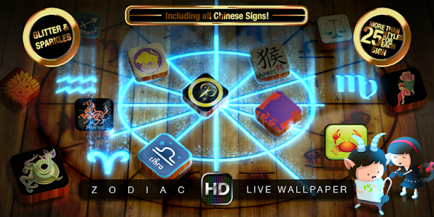 ZODIAC SIGNS HD Live Wallpaper - screenshot thumbnail