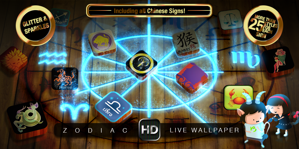 ZODIAC SIGNS HD Live Wallpaper - screenshot