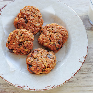 Parsnip and Date ANZAC Cookies.