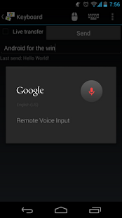 Mouse & Keyboard Remote - screenshot thumbnail