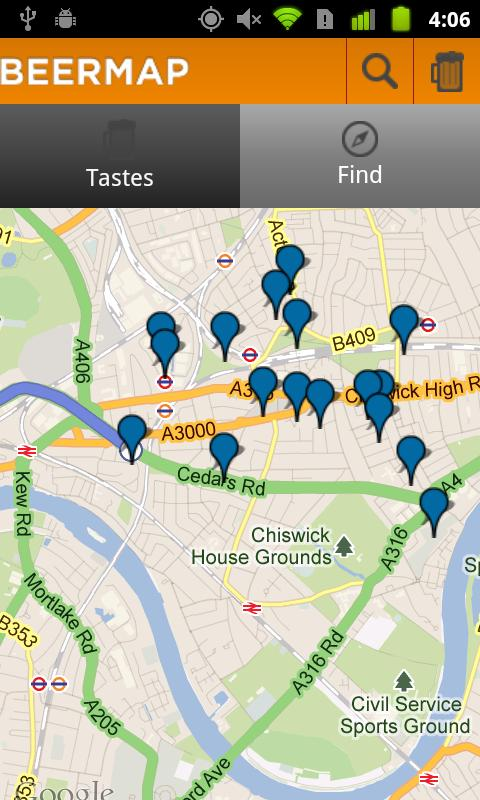 BeerMap.co: Taste, Rate, Share - screenshot