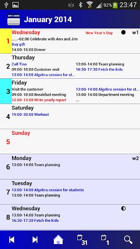 Calendar Pro en - full version