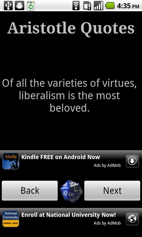 Aristotle Quotes - screenshot