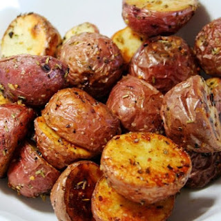 Herb Roasted Potatoes & Pearl Onions.