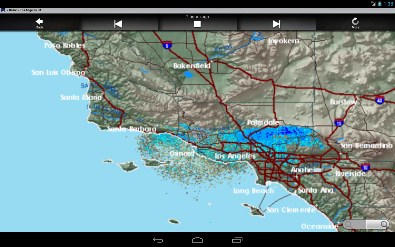 NOAA Weather And Radar Android Apps On Google Play - Los angeles doppler map