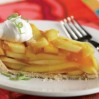 Fresh Mango Pie.