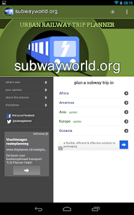 Subway and Metro Guide - screenshot thumbnail