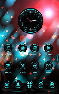 CyanLight Next Launcher Theme