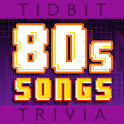 '80s Song Lyrics-Tidbit Trivia logo