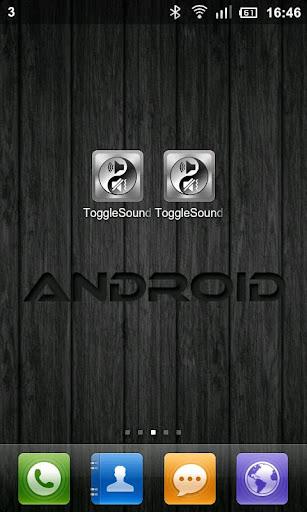 Toggle Sound And Lock FREE