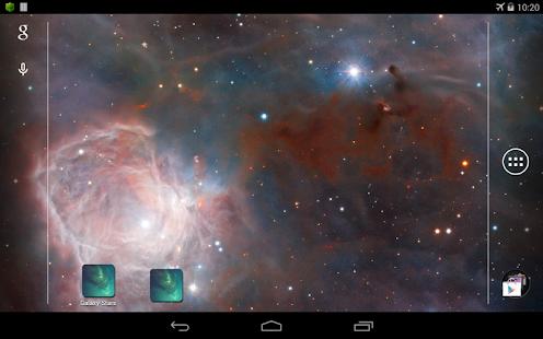 Galaxy 星空 動態桌布