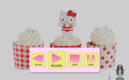 Send cute cakes voice
