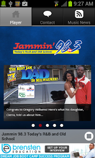 Jammin 98.3 - screenshot thumbnail