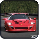 3D Ferrari Rally racing icon