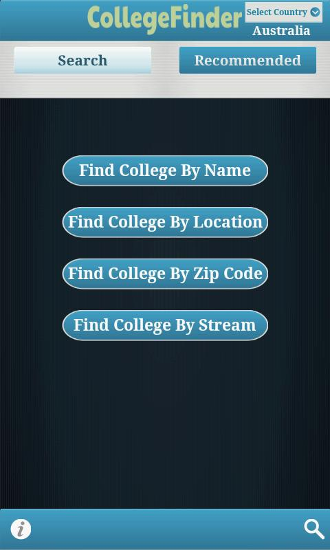 Codemunch CollegeFinder - screenshot