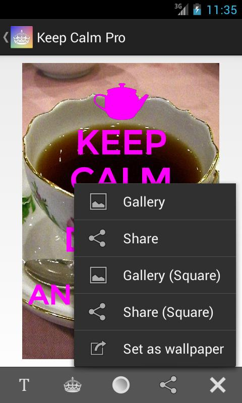 Keep Calm Pro - screenshot