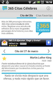 365 Citas Célebres - screenshot thumbnail