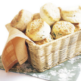 Parmesan and Parsley Biscuits.