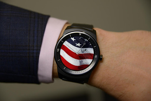 USA - Android Wear Watch Face