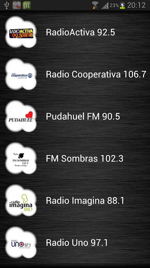Live Radio Chile - screenshot