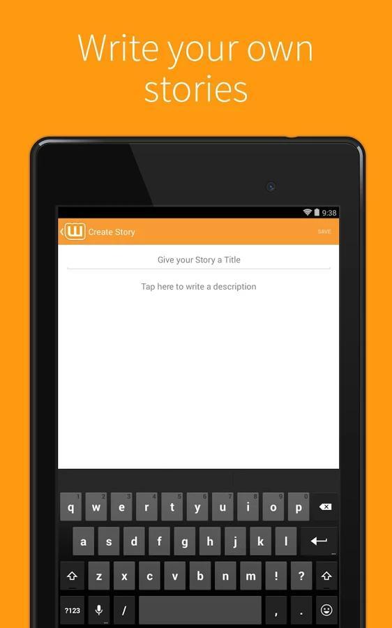 Wattpad Beta- screenshot