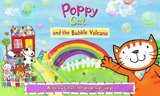 Poppy Cat the Bubble Volcano