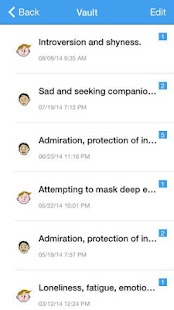 Moodies Emotions Analytics screenshot