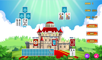 Screenshot of Magic Castle Solitaire Free