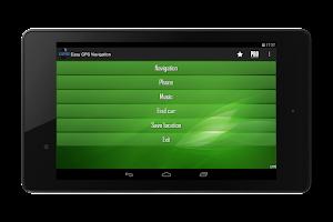Screenshot of Easy GPS Navigation PRO