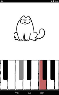 Пианино кота Саймона