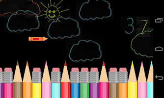 Screenshot of The Crayon Game
