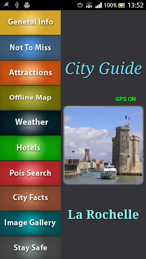 La Rochelle Offline Map Guide