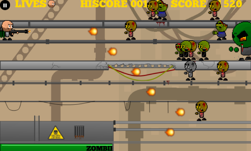 Yikes! Zombies! Shoot 'Em! - screenshot