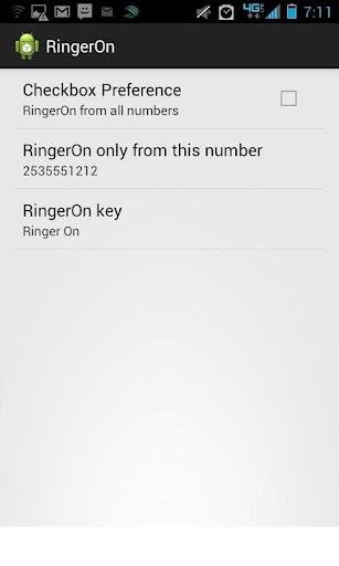 RingerOn