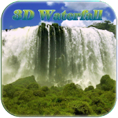 5D Vattenfall Live Wallpapers