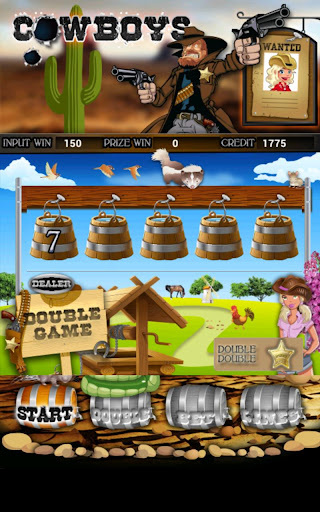 Cowboys Slot Machine HD Screen Capture 2