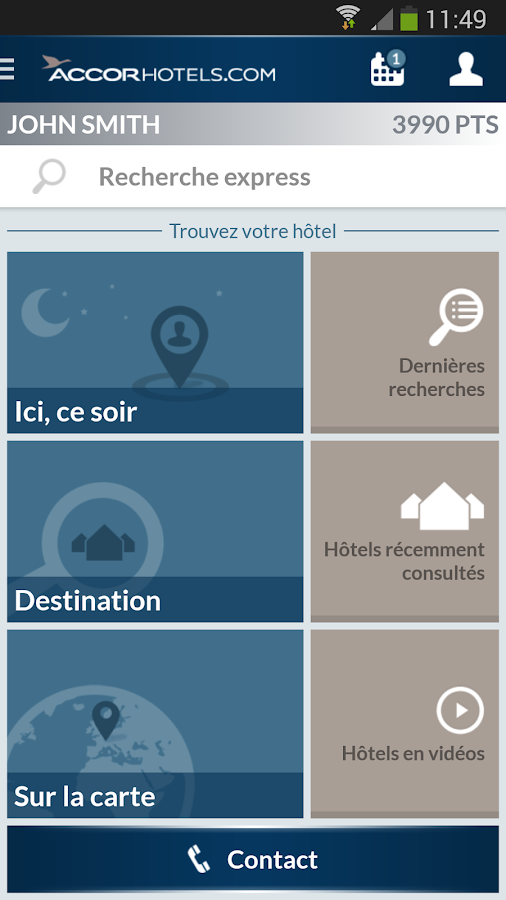 Accorhotels.com - screenshot