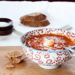 Fiery Roasted Tomato Soup