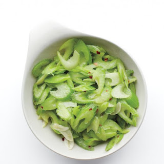 Spicy Sauteed Celery